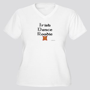 Irish Dance Roadie - Women's Plus Size V-Neck T-Sh