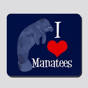 Cute Manatee Mousepad