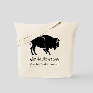 Buffalo Chips Tote Bag