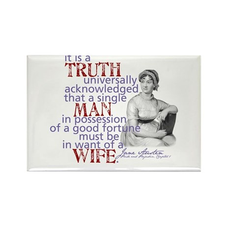 Truth Rectangle Magnet