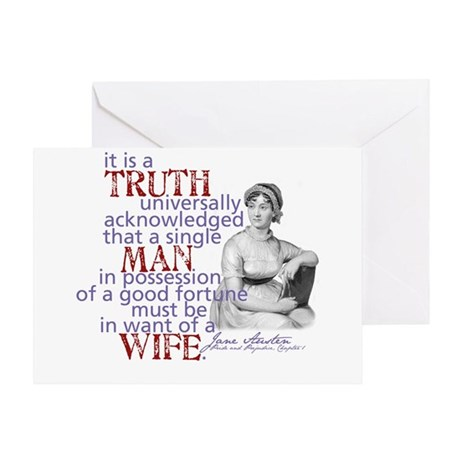 Truth Greeting Card