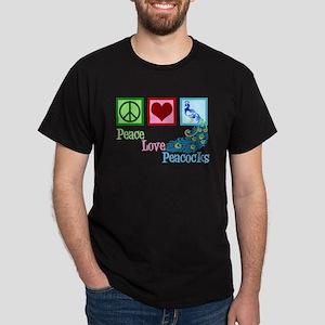 Cute Peacock Dark T-Shirt