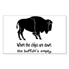 Buffalo Chips Bumper Sticker