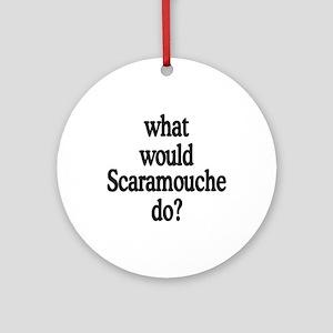 Scaramouche Ornament (Round)