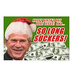 Merry Xmas Suckers Bush Postcards (Package of 8)