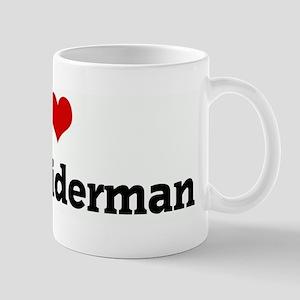I Love Mike Widerman Mug