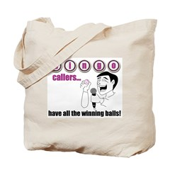 Bingo Caller Tote Bag