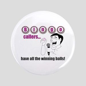 """Bingo Caller 3.5"""" Button"""