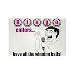 Bingo Caller Rectangle Magnet
