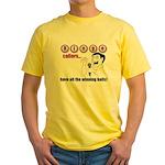 Bingo Caller Yellow T-Shirt
