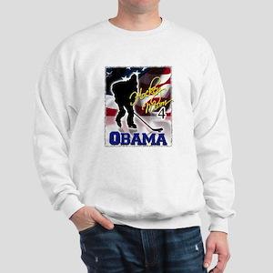 Hockey Mom for Obama Sweatshirt
