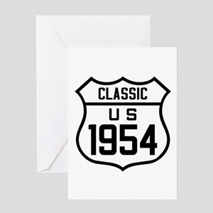 Classic US 1954 Greeting Cards