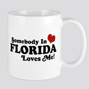 Somebody In Florida Loves Me Mug