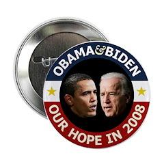 Obama-Biden Our Hope B/R 2.25