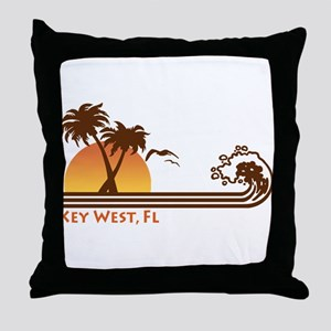 Key West Throw Pillow