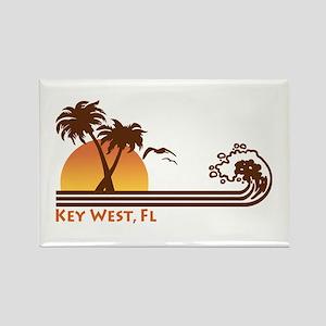 Key West Rectangle Magnet