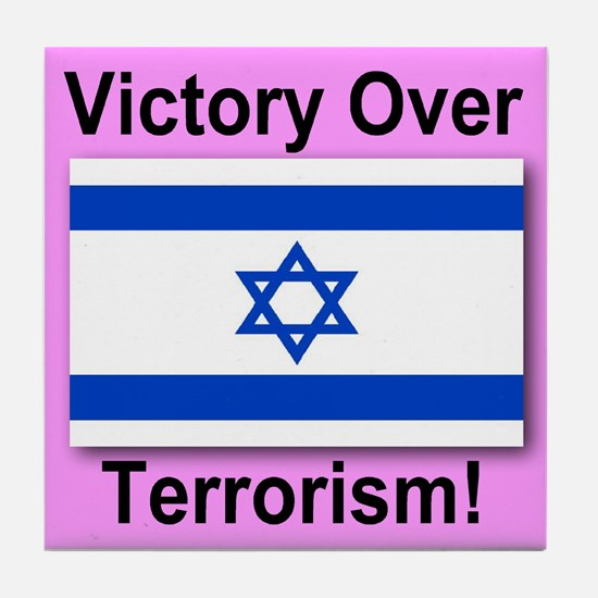 Victory Over Terrorism Tile Coaster