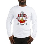 Magnoni Family Crest Long Sleeve T-Shirt