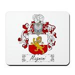 Magnoni Family Crest Mousepad
