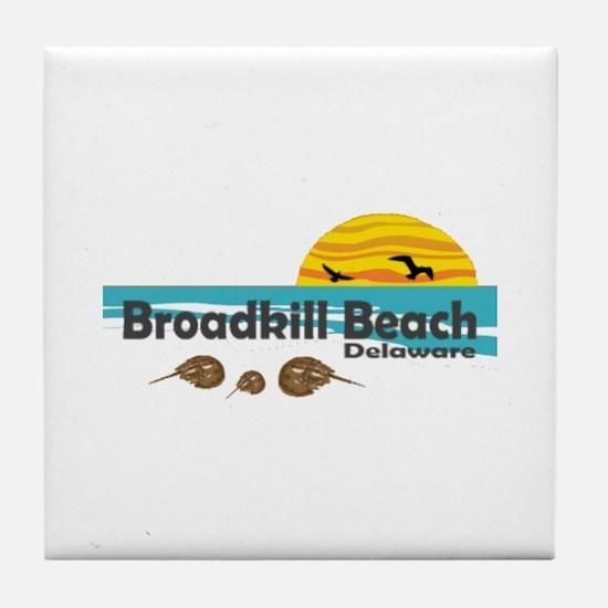Broadkill Beach Tile Coaster