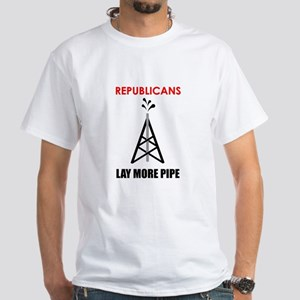 Republicans Lay More Pipe (Men's T-shirt)