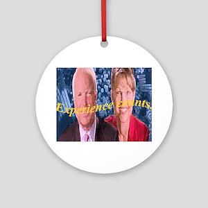 mccain/republican Ornament (Round)