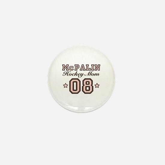 McPalin Hockey Mom Mini Button