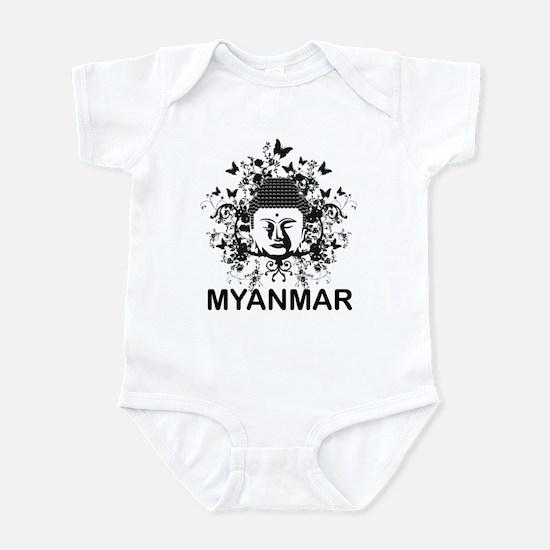 Buddha Myanmar Infant Bodysuit