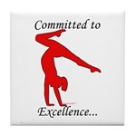 Gymnastics Tile Coaster - Excellence