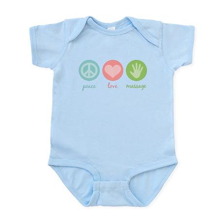 Peace, Love & Massage Infant Bodysuit