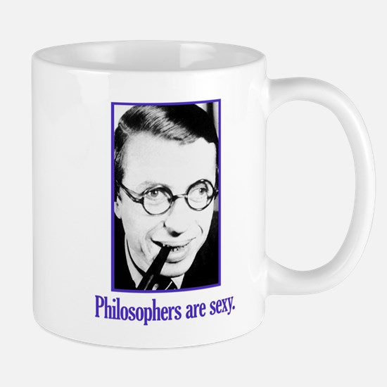 Philosophers are sexy Mug