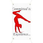 Gymnastics Banner - Excellence