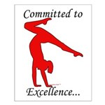 Gymnastics Poster - Excellence