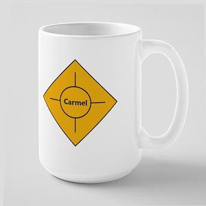 Carmel Roundabout Large Mug