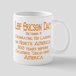Leif Ericson Day Mug