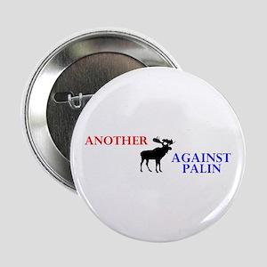 "Moose Against Palin 2.25"" Button"