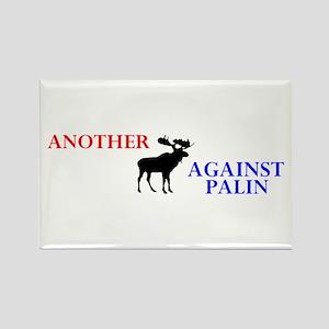Moose Against Palin Rectangle Magnet
