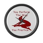 Gymnastics Clock (Large) - Perform