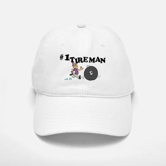 #1 Tireman Baseball Baseball Cap