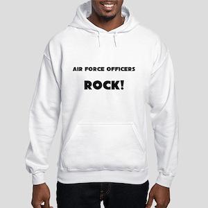 Air Force Officers ROCK Hooded Sweatshirt