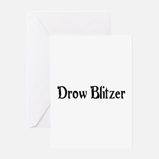 Drow Blitzer Greeting Card