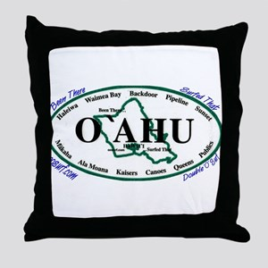 O'ahu Throw Pillow
