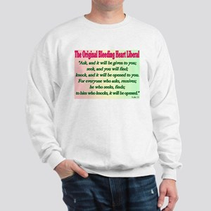 Original Bleeding Heart Liberal Sweatshirt