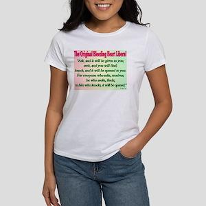 Original Bleeding Heart Liberal Women's T-Shirt