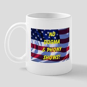 No Dogma and Phony Show Mug