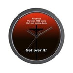 """""""Get over it!"""" Wall Clock"""
