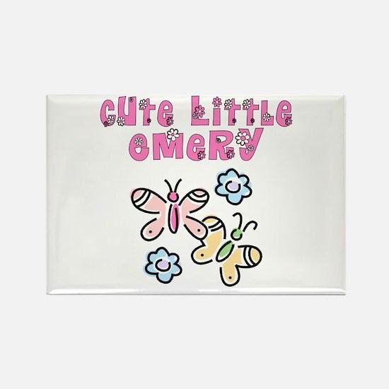 Cute Little Emery Rectangle Magnet