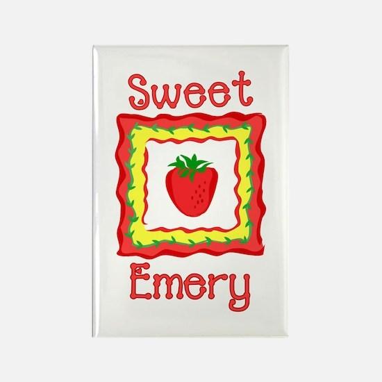 Sweet Emery Rectangle Magnet
