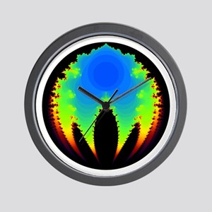 'BubbleBrot Fractal' Wall Clock