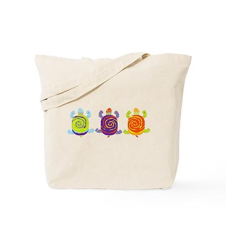 Turtle fun Tote Bag